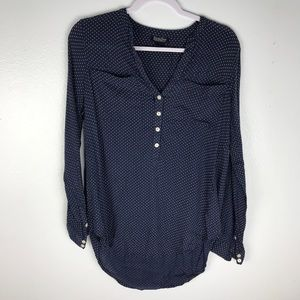 Lucky Brand Polka Dot Blouse